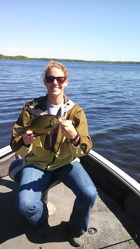 Crappie fishing with MN Fishing Pros