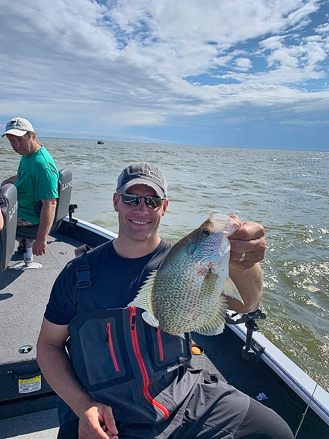 Jeff Skelly professional fishing guide crappie